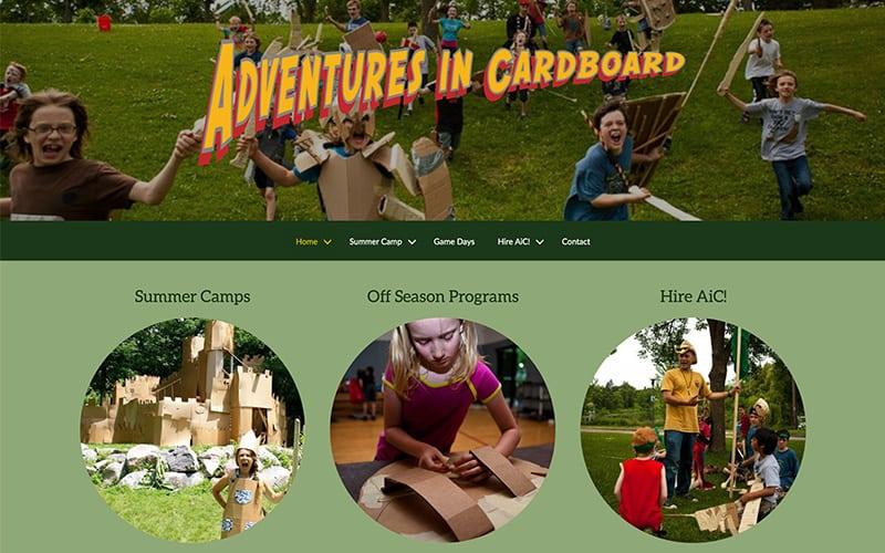 Adventures in Cardboard