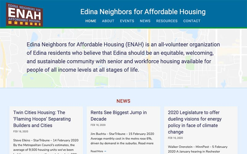 Edina Neighbors for Affordable Housing