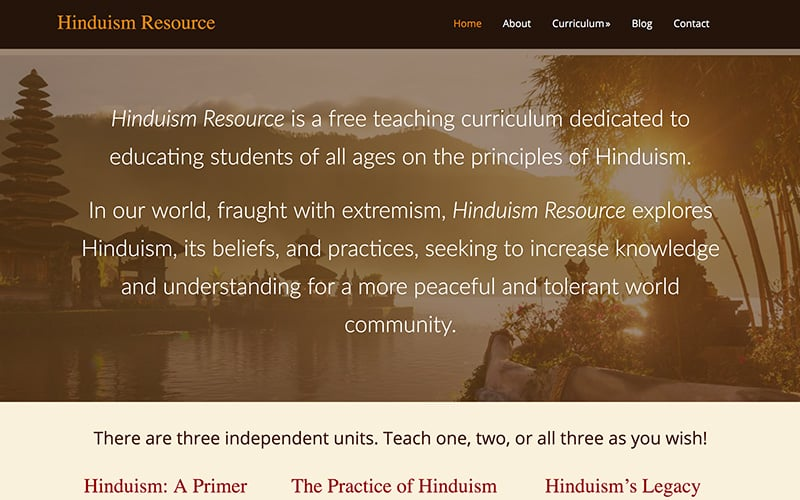 Hinduism Resource
