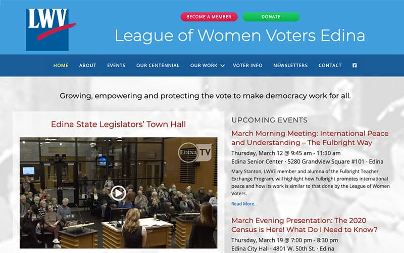 League of Women Voters Edina
