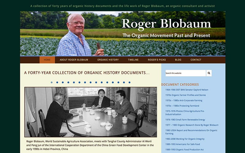 roger blobaum